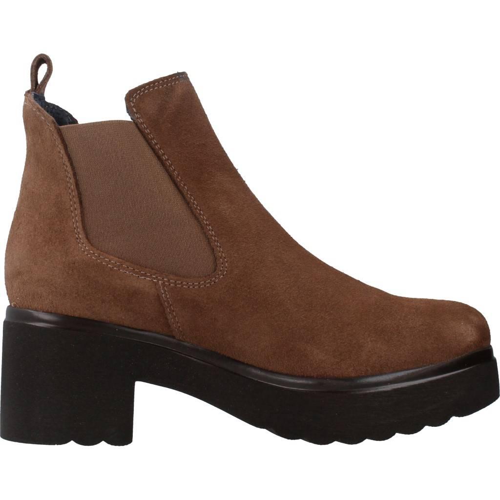 Yellow zapatos online gibson marron for 74716
