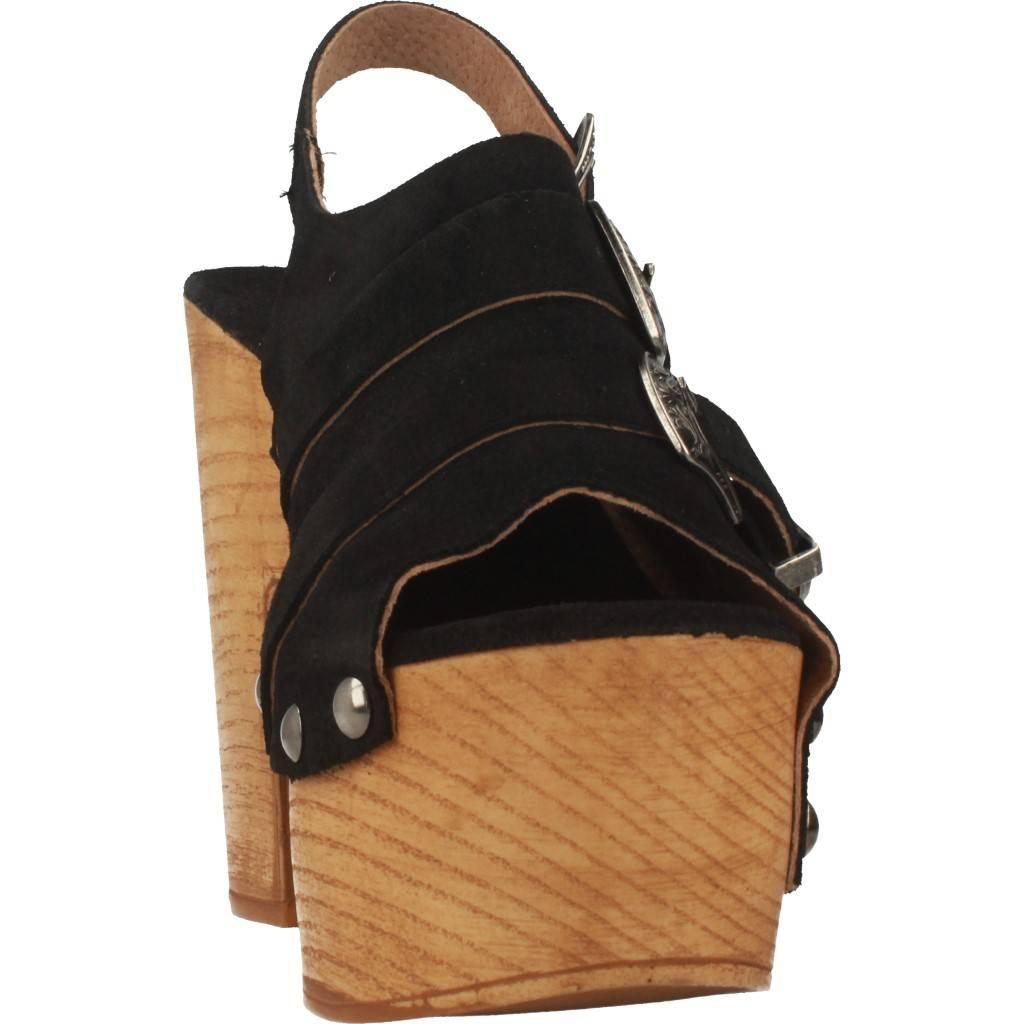Yellow Tough Negro Zacaris Zapatos Online - Gran Venta