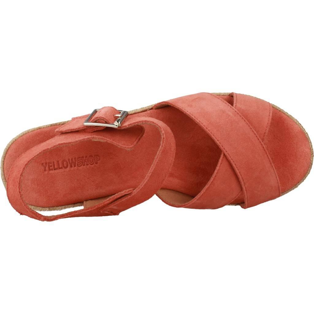 Yellow Delaware Naranja Zacaris Zapatos Online - Gran Venta