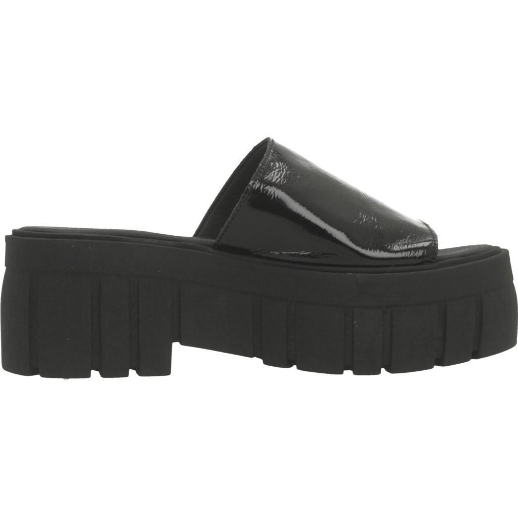 Yellow Vinyl Negro Zacaris Zapatos Online - Gran Venta