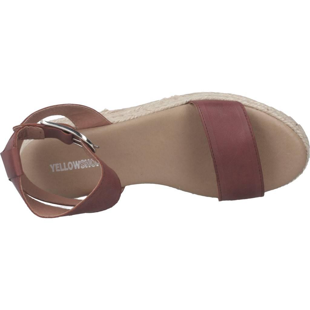 Yellow Brooklyn Marron Zacaris Zapatos Online - Gran Venta