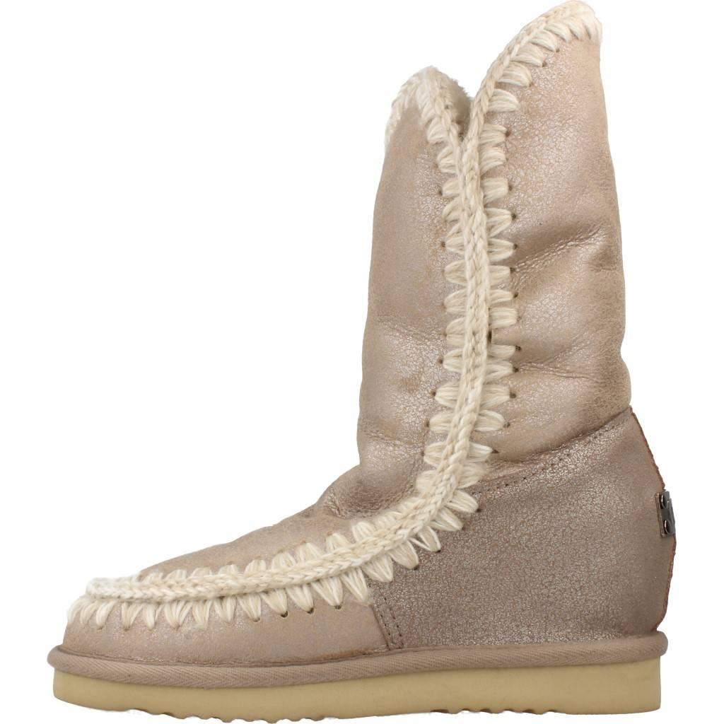 2c35bd92132 MOU ESKIMO INNER WEDGE MARRON CLARO Zacaris zapatos online.