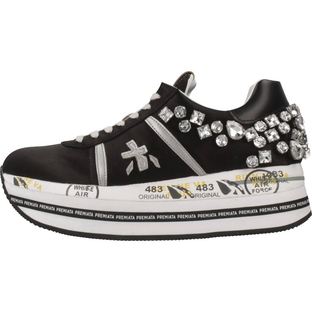 PREMIATA BETH NEGRO Zacaris zapatos online.