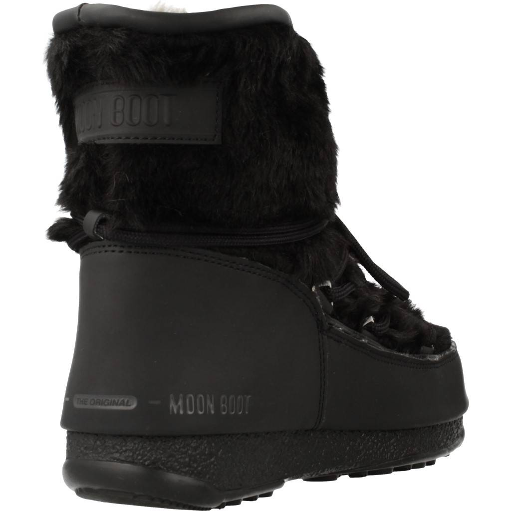 Moon Boot Moonboot Low Negro Zacaris Zapatos Online - Gran Venta