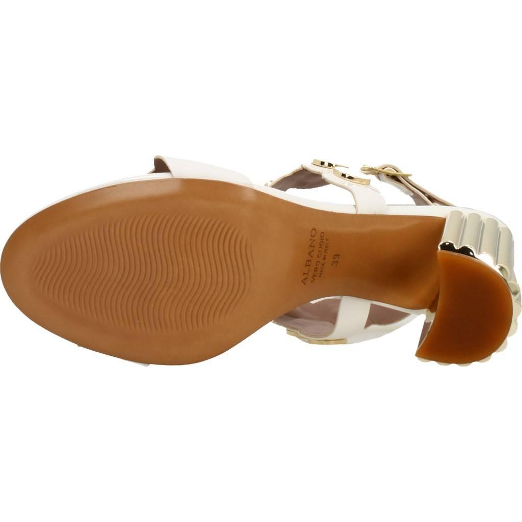 Albano 2468al Blanco Zacaris Zapatos Online - Gran Venta