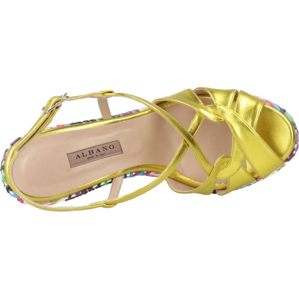 Albano 4017al Oro Zacaris Zapatos Online - Gran Venta