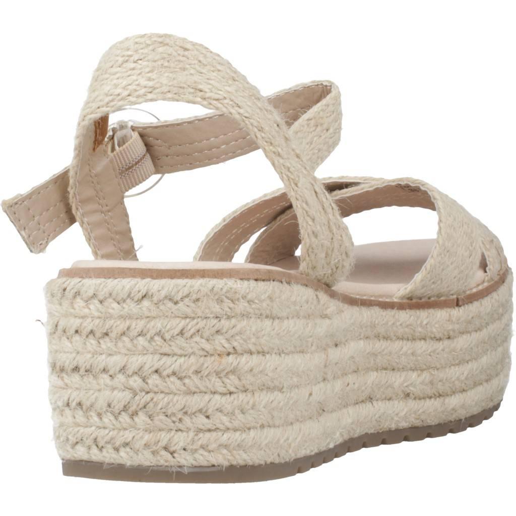 Emmshu Nesa Marron Claro Zacaris Zapatos Online - Gran Venta