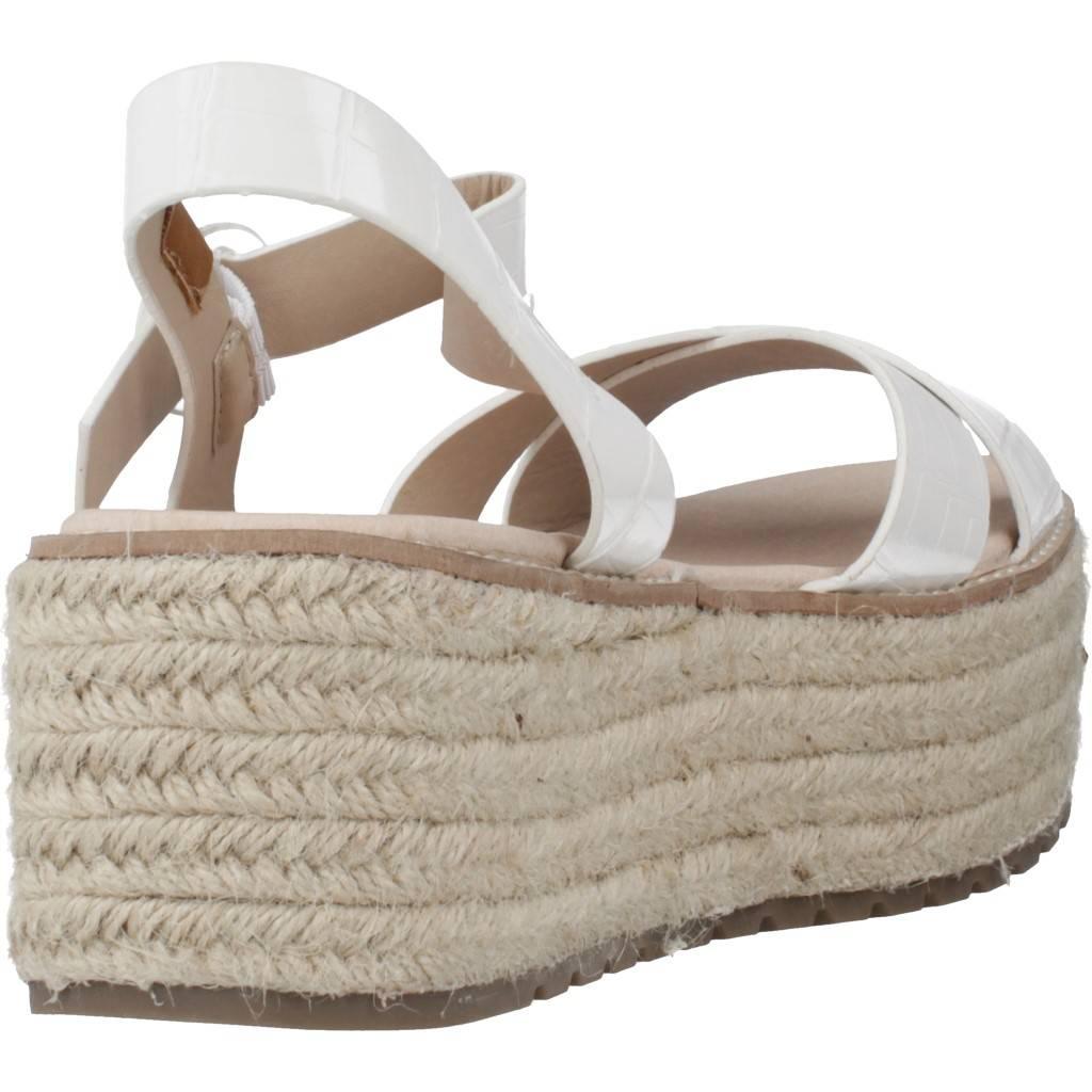 Emmshu Nesa Blanco Zacaris Zapatos Online - Gran Venta