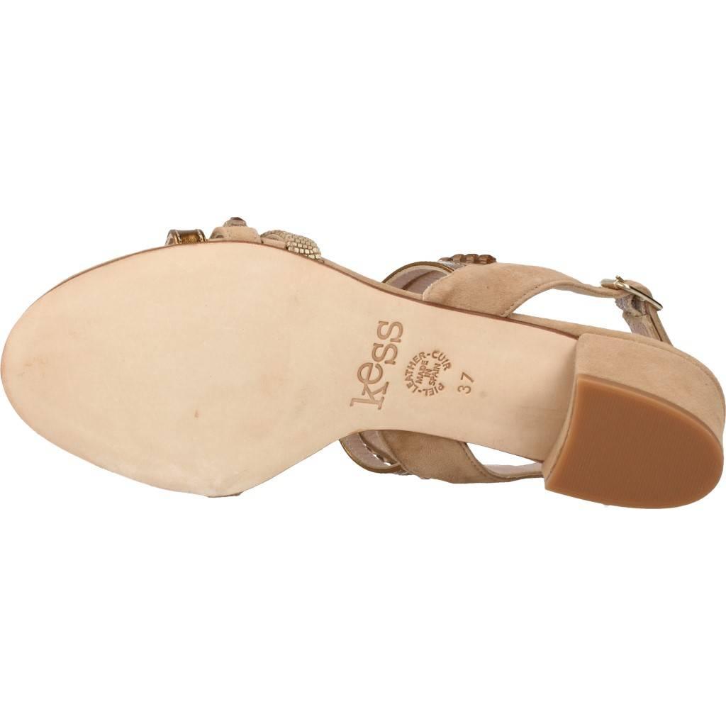 Kess 16350m Marron Claro Zacaris Zapatos Online - Gran Venta