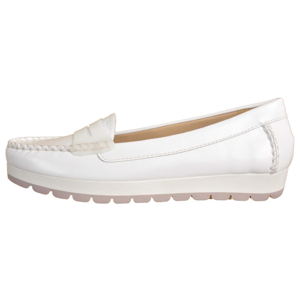 Stonefly Mocasines Para Mujer, Color Blanco, Marca, Modelo Mocasines Para Mujer 106148 Blanco