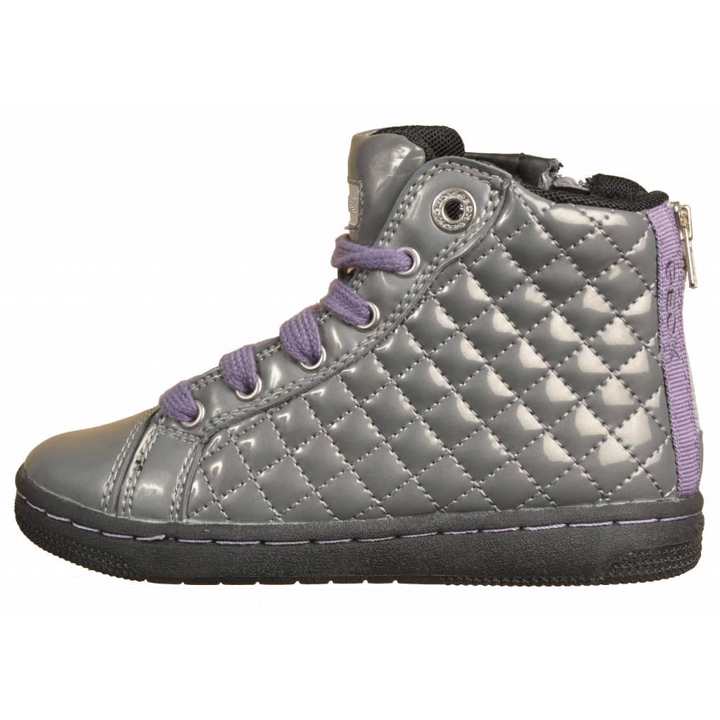 Grandes precios de zapatos para JR hombres y mujeres GEOX JR para CREAMY GRISZapatos niños  Zapatos Niñas  Botas 88d867
