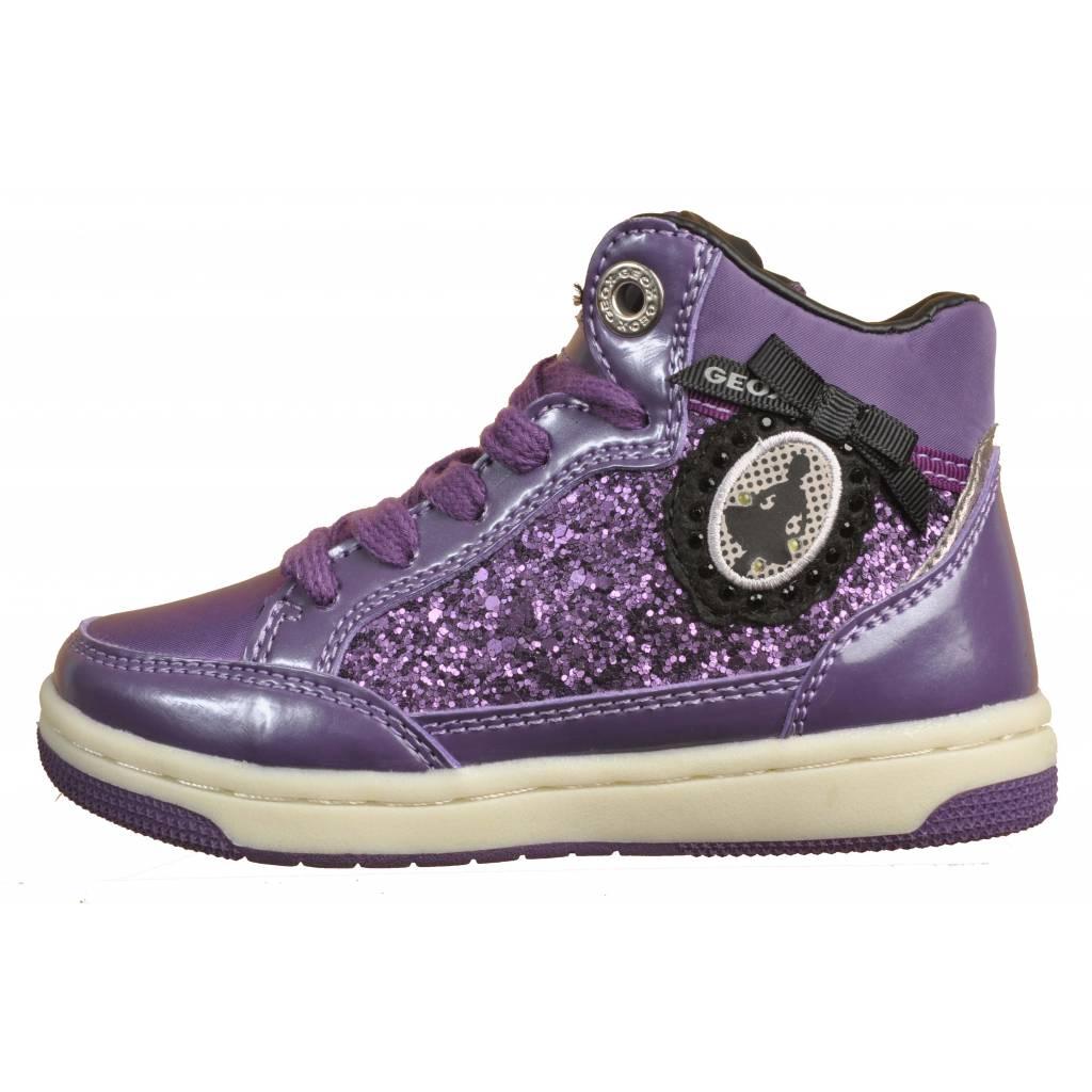 f17db4e4686bdf GEOX JR CREAMY con luces VIOLETA Zacaris zapatos online.