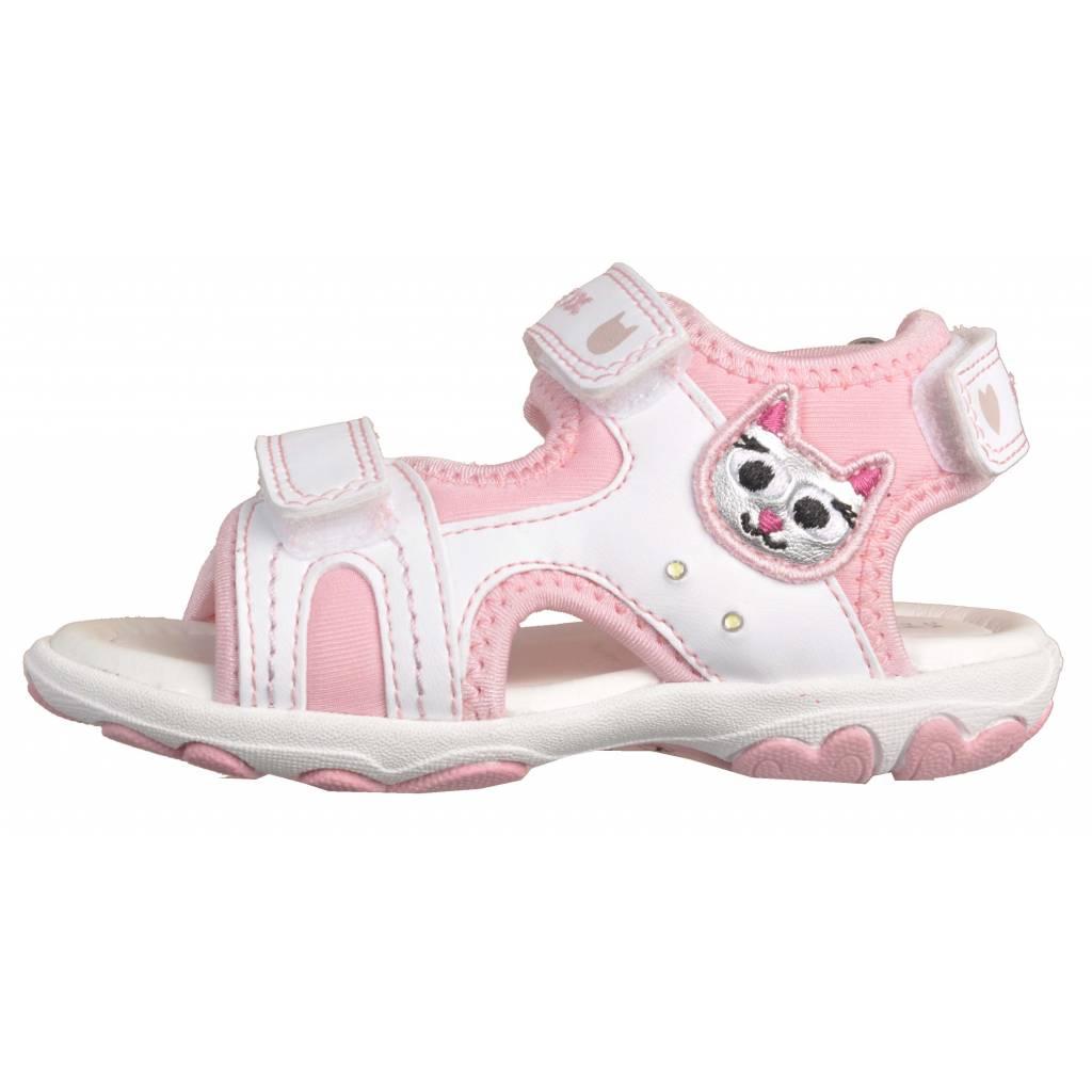 c51e4e89a0d GEOX B SANDAL CUORE A con luces! BLANCO Zacaris zapatos online.
