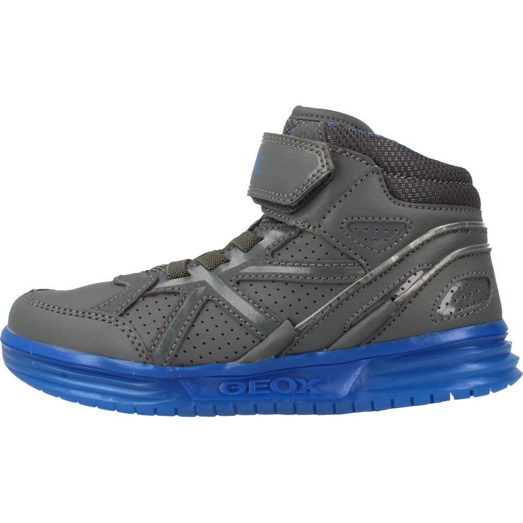 Grandes precios de zapatos para J hombres y mujeres GEOX J para ARGONAT B con luces GRISZapatos niños  Zapatos Niños  Zapatillas 7093e0