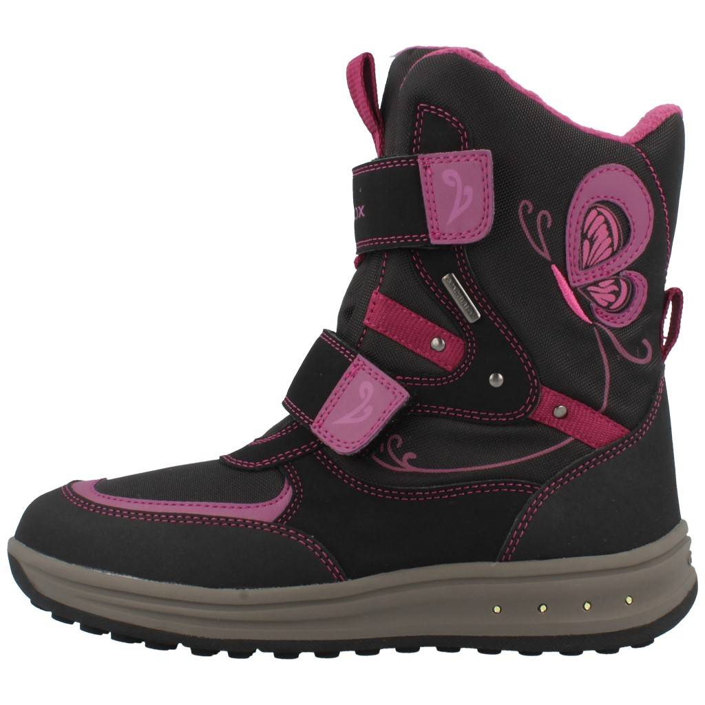 GEOX J ROBY B con Luces ! NEGRO Zacaris zapatos online.