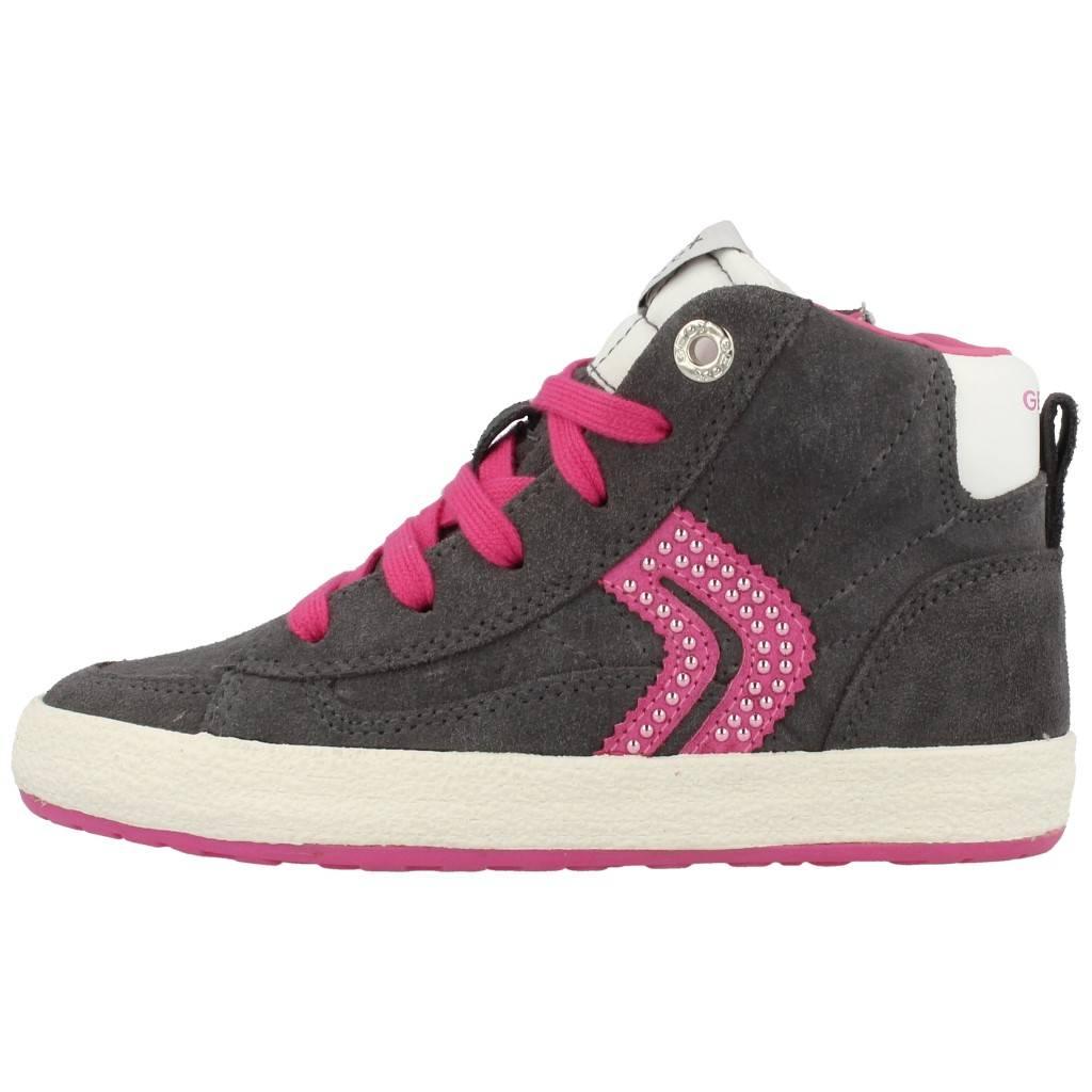Grandes precios de zapatos para hombres y mujeres GEOX JR WITTY D GRISZapatos niños  Zapatos Niñas  Zapatillas