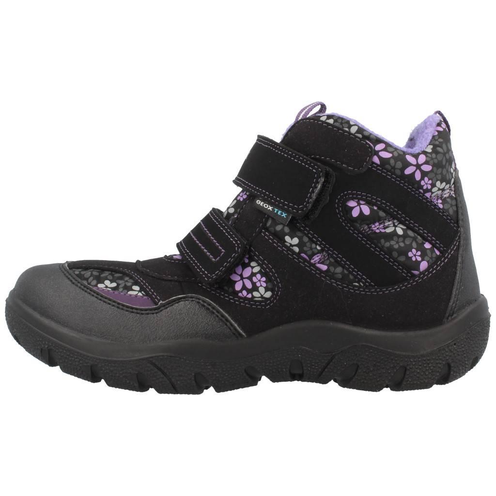 Grandes precios de zapatos para hombres y mujeres GEOX JR FROSTY NEGROZapatos niños  Zapatos Niñas  Botas