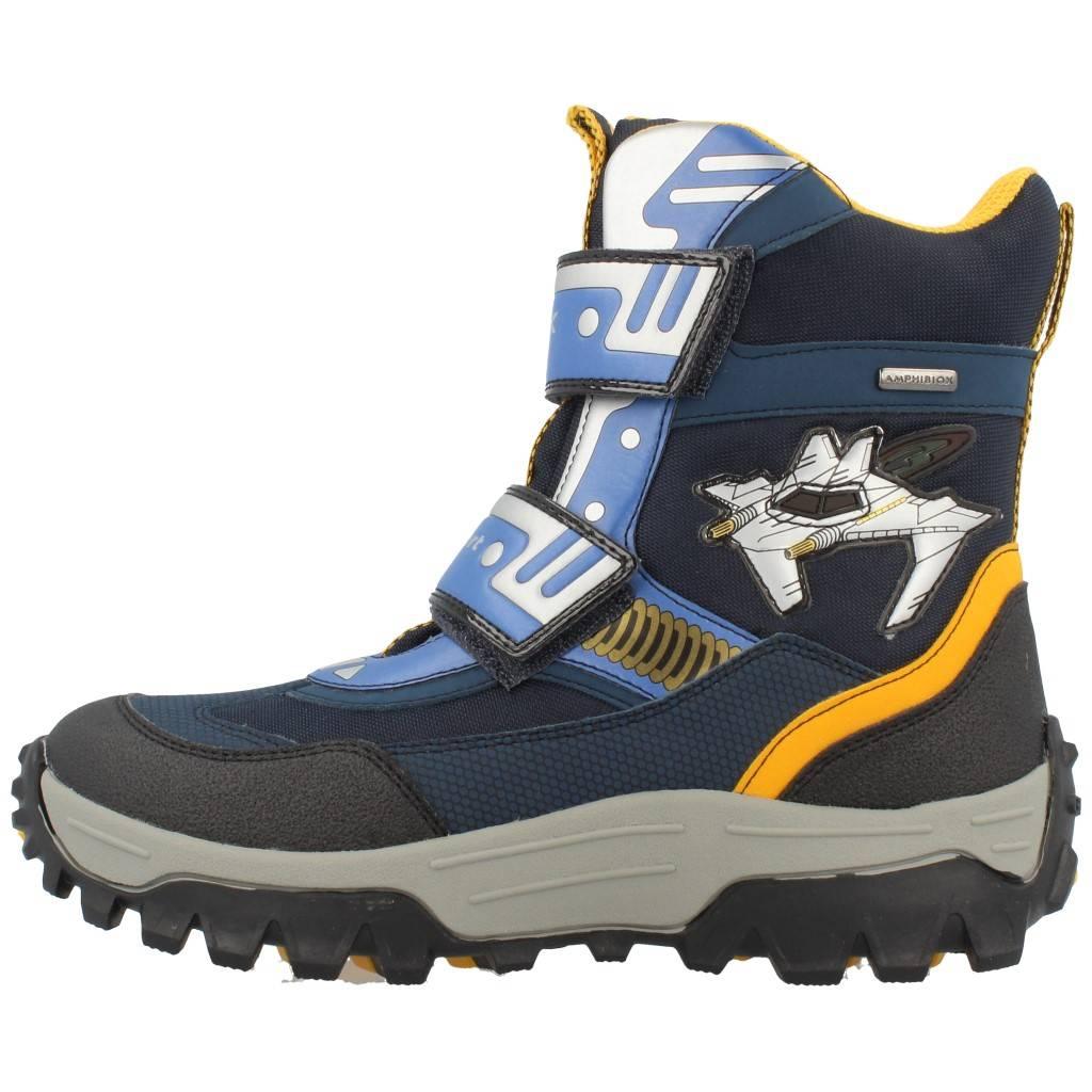 Grandes precios de zapatos para hombres y mujeres GEOX JR LTHIMALAYA B ABX AZULZapatos niños  Zapatos Niños  Botas