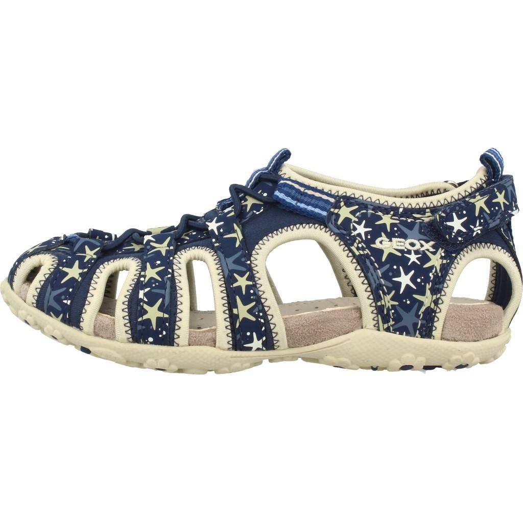 668e85640 GEOX JR SANDAL ROXANNE AZUL Zacaris zapatos online.