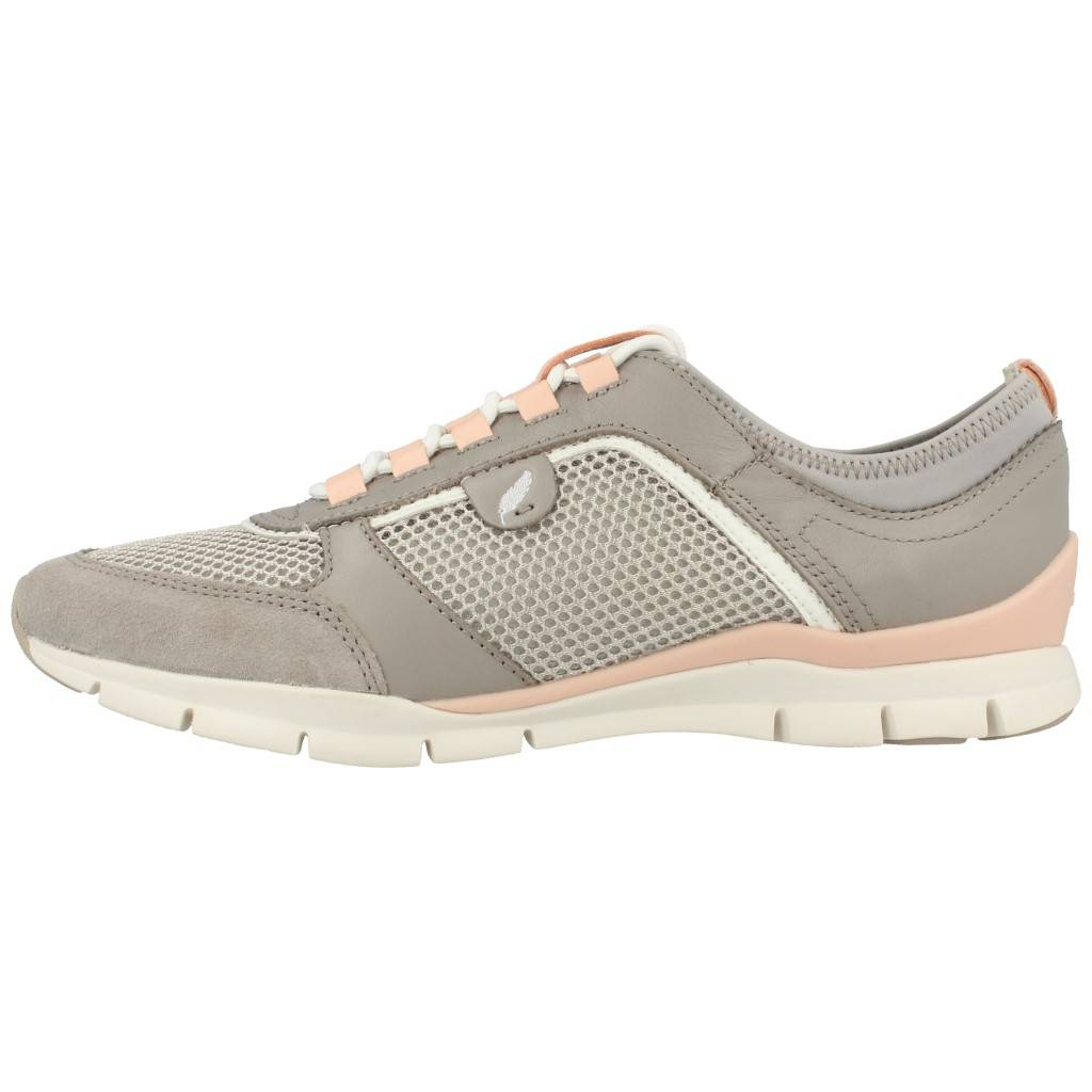 Zapatos grises formales Geox para mujer M6vJf7c