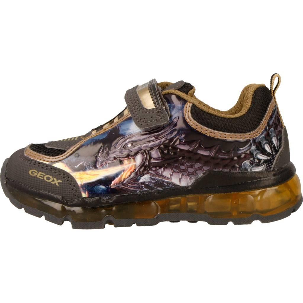 cheap for discount 1aec1 2f663 Grandes precios de zapatos para hombres y mujeres GEOX J ANDROID B con luce  GRISZapatos niños