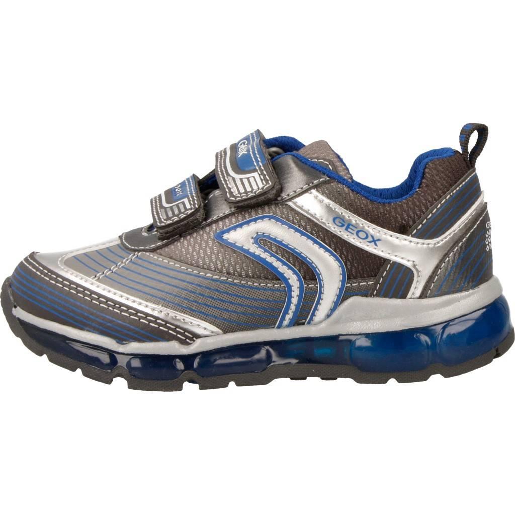 Grandes precios de zapatos para hombres y mujeres GEOX J ANDROID BOY AZULZapatos niños  Zapatos Niños  Zapatillas