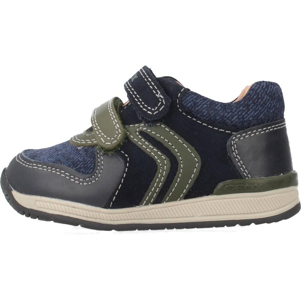 Grandes precios de zapatos para hombres y mujeres A GEOX B RISHON B A mujeres AZULZapatos niños  Zapatos Niños  Zapatillas 682ba7
