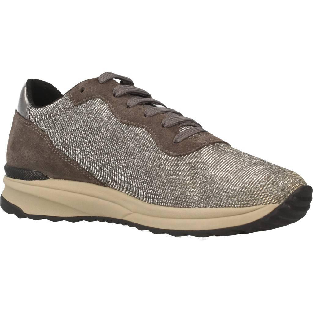 Damen Laufschuhe GEOX D BIRELL B, Farbe Silber