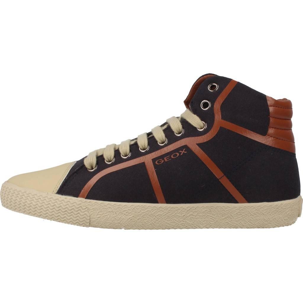 Grandes precios de zapatos para hombres y mujeres GEOX J SMART BOY A MARRONZapatos niños  Zapatos Niños  Botas