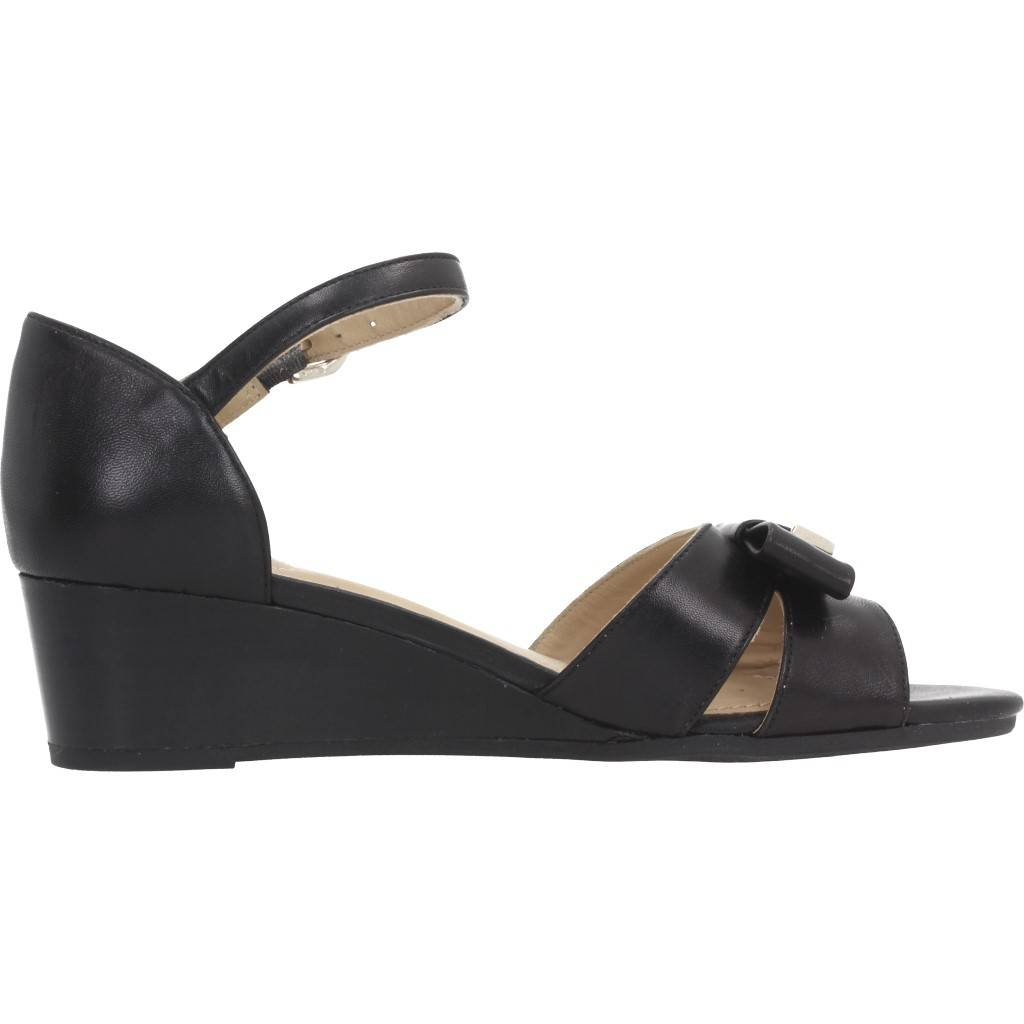 GEOX D LUPE NEGRO Zacaris zapatos online.