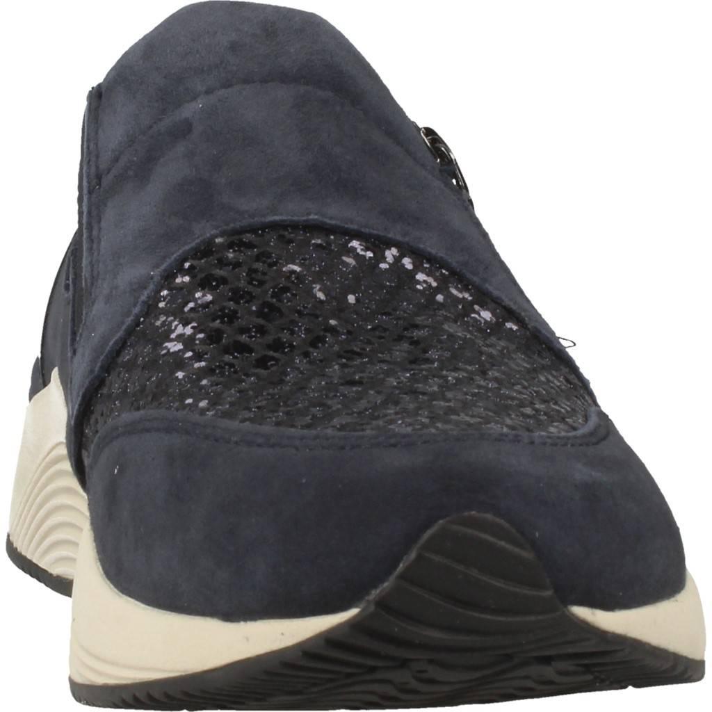 Sneaker geox blu d omayah, farbe blu geox - cef352