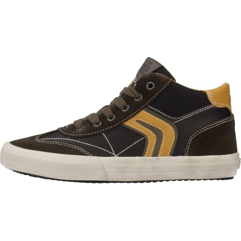 Grandes precios de zapatos para hombres y mujeres GEOX J ALONISSO BOY MARRONZapatos niños  Zapatos Niños  Botas