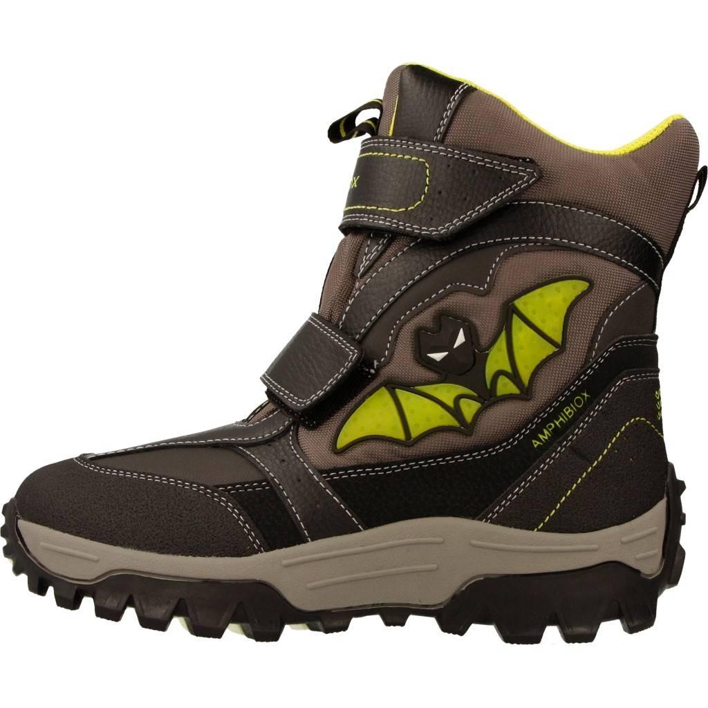 Grandes precios de zapatos para hombres y mujeres GEOX JR LT HIMALAYA B ABX GRISZapatos niños  Zapatos Niños  Botas
