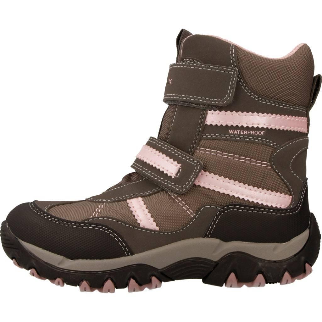 Grandes precios de zapatos para hombres y mujeres GEOX J ALASKA GIRL B WPF GRISZapatos niños  Zapatos Niñas  Botas