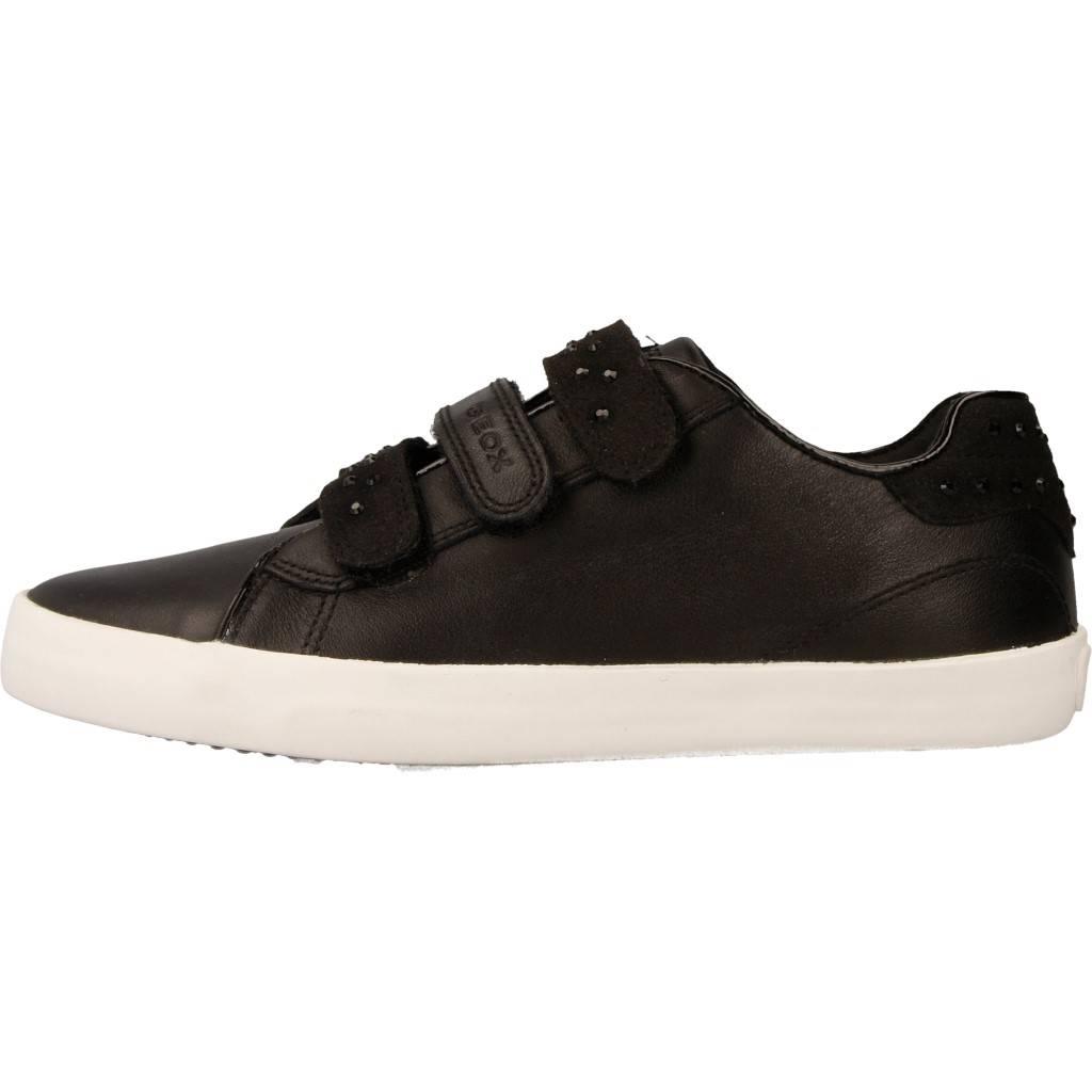 Grandes precios de zapatos para hombres y mujeres GEOX J KILWI GIRL NEGROZapatos niños  Zapatos Niñas  Zapatillas