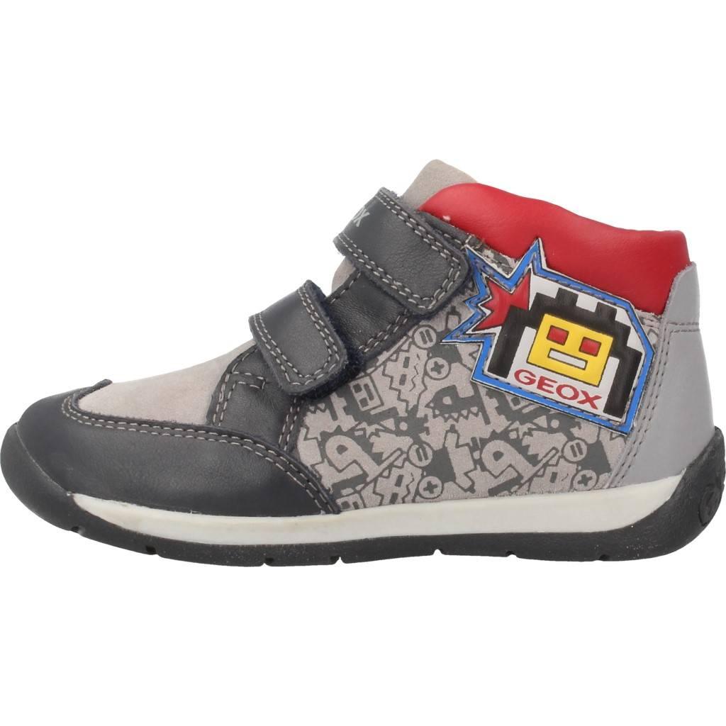 Grandes precios de zapatos para hombres y mujeres GEOX B EACH BOY GRISZapatos niños  Zapatos Niños  Botas
