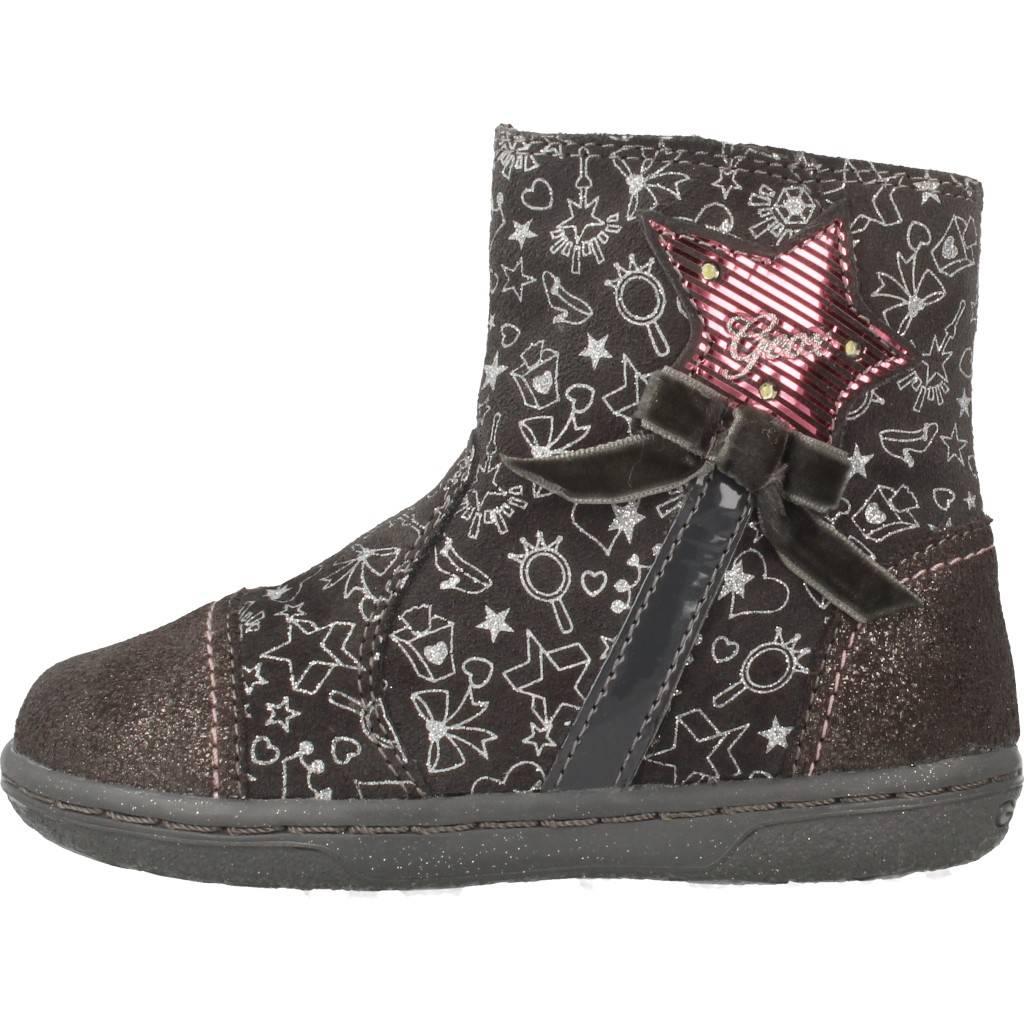 Grandes precios de zapatos para hombres y mujeres GEOX B FLICK GIRL GRISZapatos niños  Zapatos Niñas  Botas