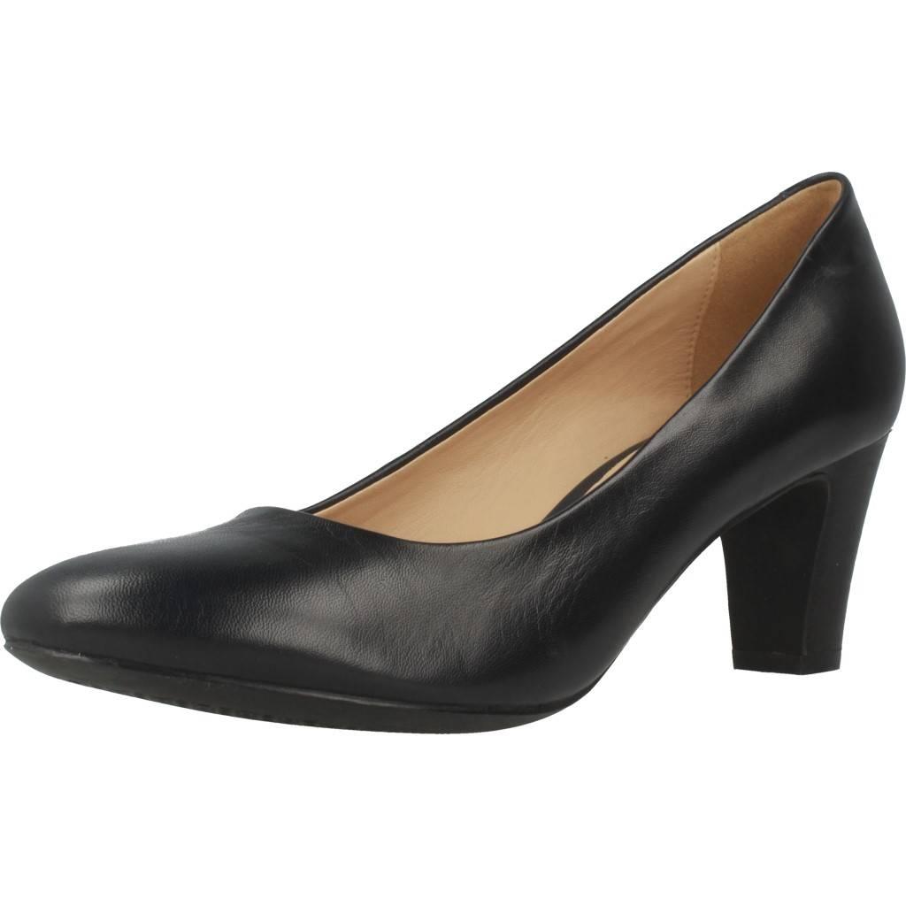 Détails sur Chaussures à talon pour femme GEOX D MARIELE MID NEGRO 78584 NEGRO