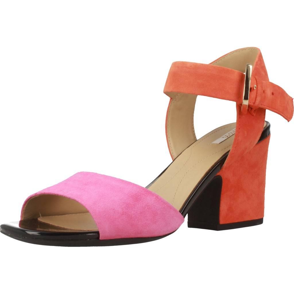 Sandales puor femme GEOX D MARILYSE, Couleur Orange