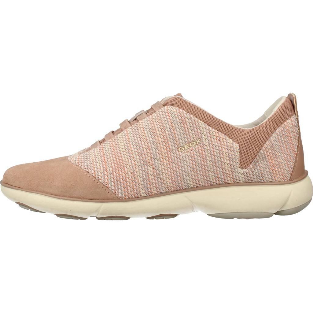 GEOX D NEBULA G MARRON CLARO Zacaris zapatos online.