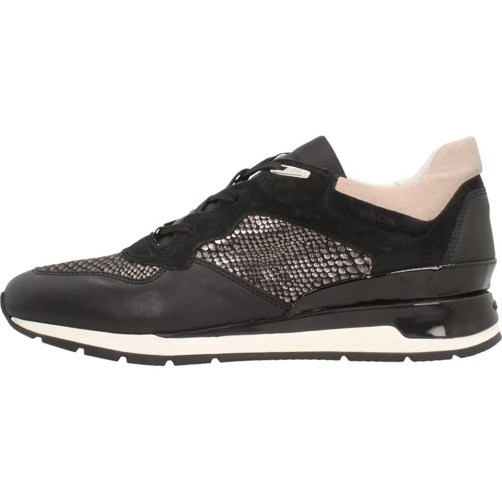 GEOX D SHAHIRA B NEGRO Zacaris zapatos online.