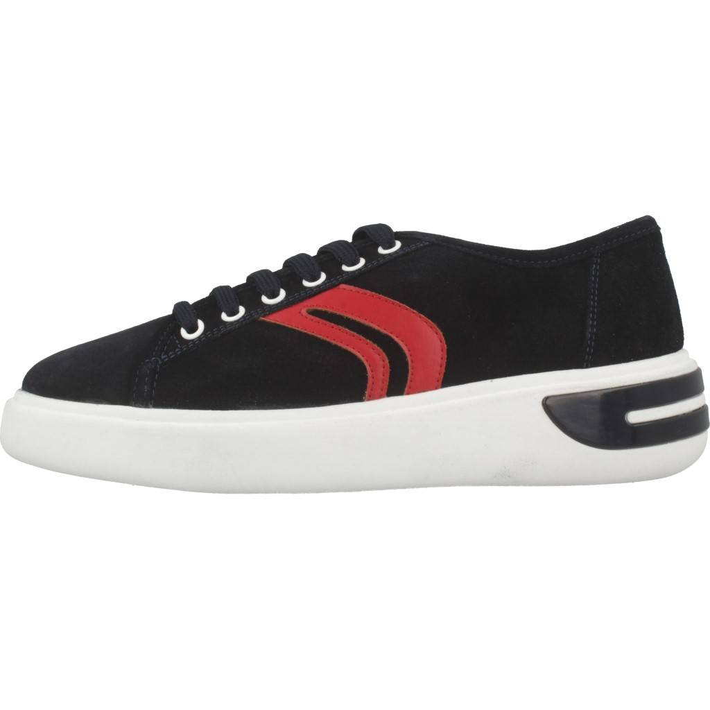Geox sneaker con zeppa colore nero D540QA 00085 C9997
