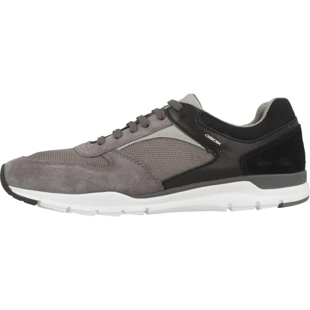 Zapatos Geox Online A U Calar Gris Zacaris vy8n0mwON