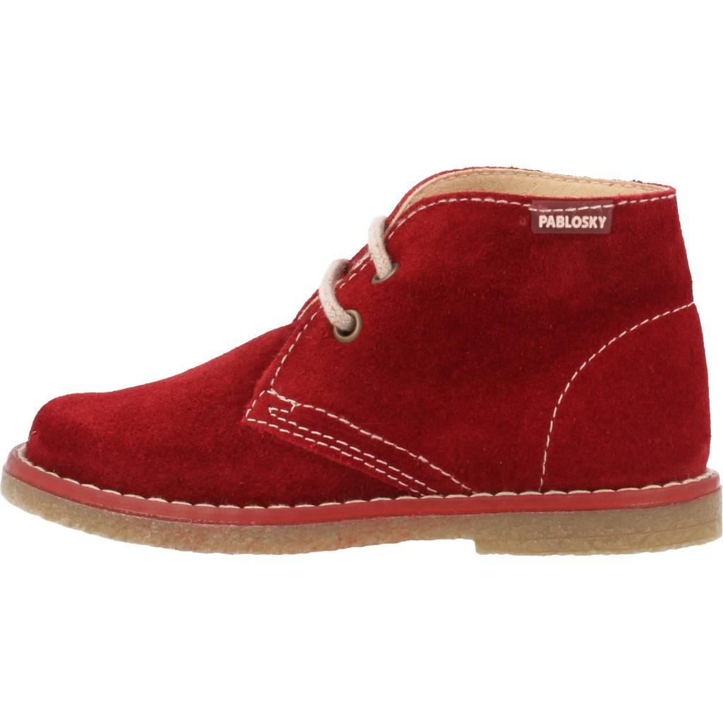 Grandes precios de zapatos para hombres y mujeres PABLOSKY 574168 BURDEOSZapatos niños  Zapatos Niñas  Botas