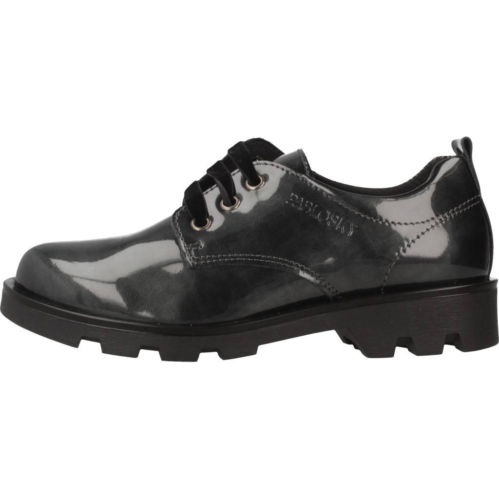6b735fa8275 Pablosky 326529 Marino Zapato Charol de Cordones Zapatos para niña