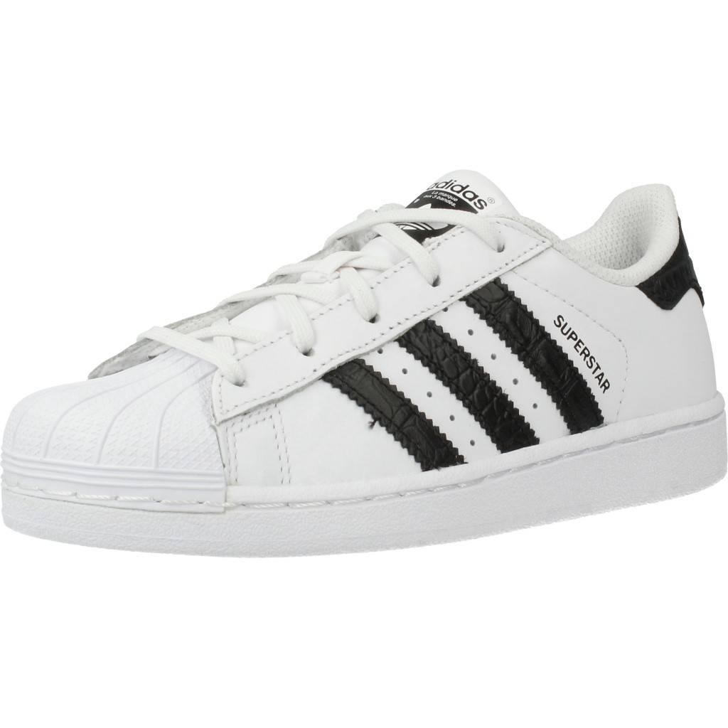 new concept 6b1c9 1f7d9 ... Grandes precios de zapatos para hombres y mujeres ADIDAS ORIGINALS  SUPERSTAR C BLANCOZapatos niños Zapatos Niñas ...