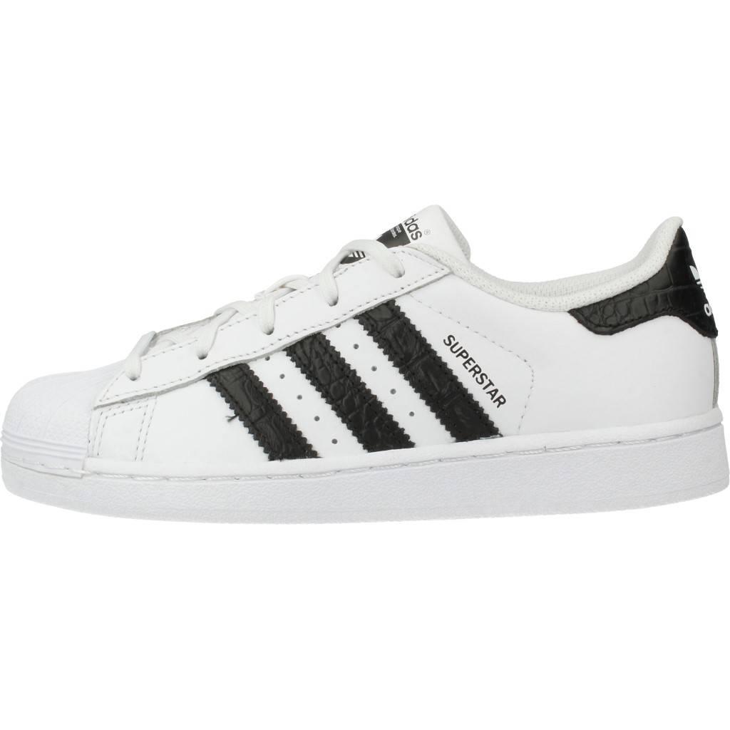 check out a2cbe 271ed Grandes precios de zapatos para hombres y mujeres ADIDAS ORIGINALS SUPERSTAR  C BLANCOZapatos niños Zapatos Niñas