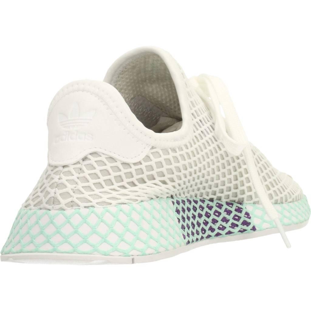 Adidas Originals Deerupt Blanco Zacaris Zapatos Online - Gran Venta