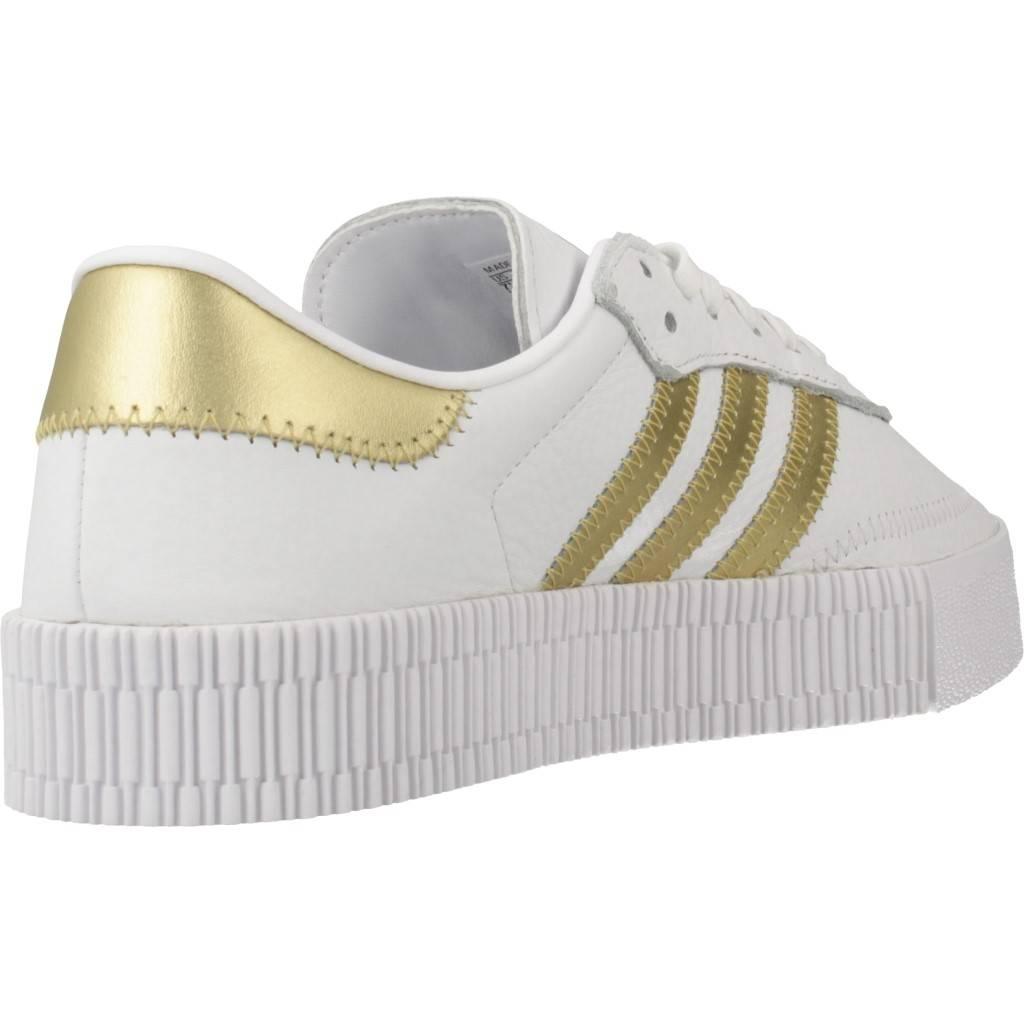 Adidas Originals Sambarose Blanco Zacaris Zapatos Online - Gran Venta