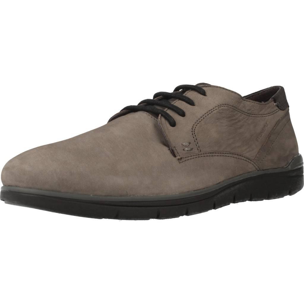 Zapatos Informales Hombre STONEFLY WOODY 1 , Farbe Grau